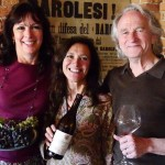 With Chiara Boschis in Barolo Italy