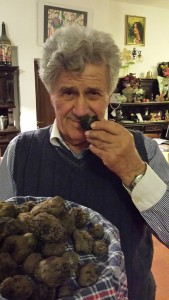 Meeting with a Truffle Farmer and enjoying dinner at his house