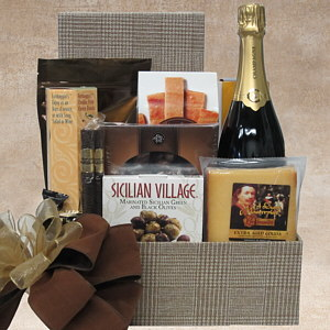 Business Class Gift Basket