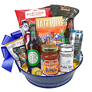 Its a Party Beer Gift Basket