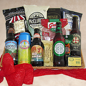 Beer Bonanza Gift Basket, fathers day basket