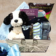 Deluxe Bundle of Joy Baby Gift Basket