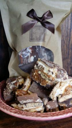 A delightful s'mores-in-a-bag treat