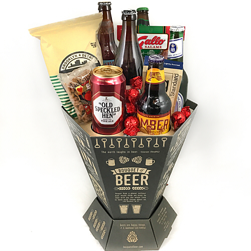 Mothers day gift baskets at fancifull gift baskets bouquet of beer negle Images