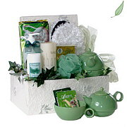 Bath and Tea Gift Basket