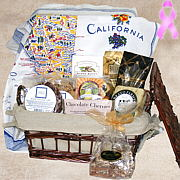 California Dreaming Gift Basket