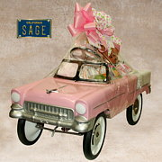 Pink Roadster Gift Basket
