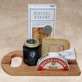 The Cheese Board Gift Basket