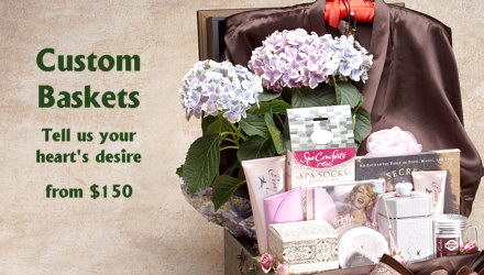 Pamper Gift Baskets, Spa Gift Baskets, Bath Gift Baskets