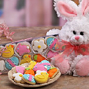 Easter Cookies Gift Basket