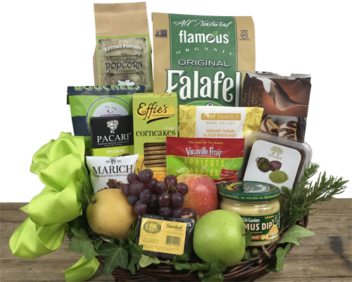 Special diet gift baskets by fancifull fine foods and fresh fruit deluxe gift basket negle Choice Image