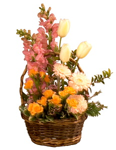 Spring Garden Flower Arrangement