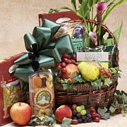 Thinking of You Gift Basket, Condolence gift, get well gift basket