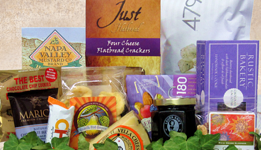 Click here fou our Gourmet Gift Basket page