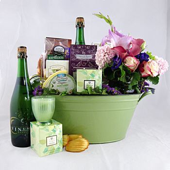Garden of Delight Gift Basket