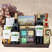 Wine Time Gift Basket