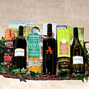 California Harvest Wine Gift Basket