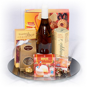 The European Wine Gift Basket