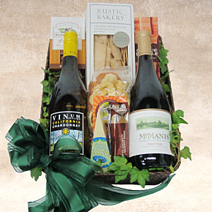 French Countryside Wine Gift Basket