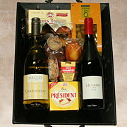 Paris Bistro Wine Gift Basket