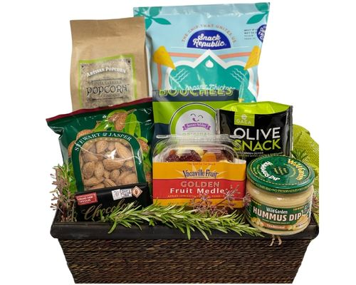 Special diet gift baskets by fancifull healthy gourmet gift basket negle Images