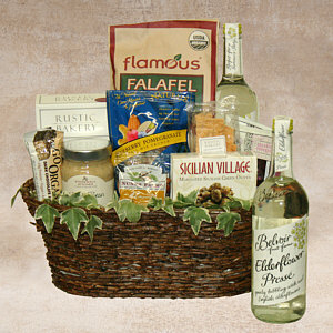 Healthy Gourmet with Olive Oil Gift Basket