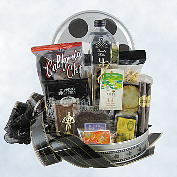 Red Carpet Welcome Gift Basket