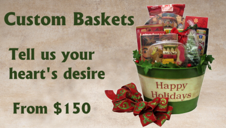 Holiday Gift Baskets, Christmas Gift Baskets