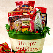 Happy Holidays Deluxe! Gift Basket