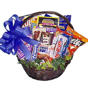 Guilty Pleasures Gift Basket