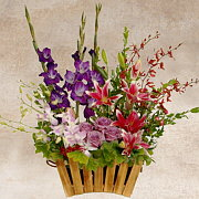 Country Garden Floral Arrangement