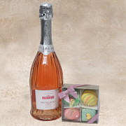Moscato and Petits Fours Gift Basket