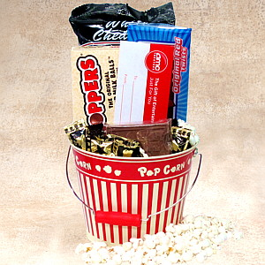 Night at the Movies Gift Basket