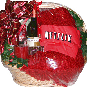 Fancifull gift baskets los angeles hollywood california cuddle up with netflix negle Gallery