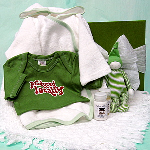 Natural Baby Gift Basket