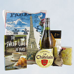 Sweet Life in Paris Gift Basket