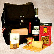 Perfect Picnic Wine Gift Basket
