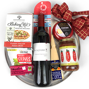 Pizza! Gift Basket