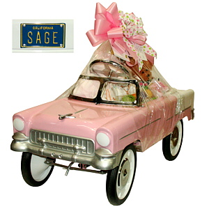 Baby girl gift basket archives fancifull blog fancifull blog sages pink roadster negle Gallery