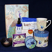 Royal Peacock Gift Basket