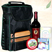 Wine and Cheese Gift Tote