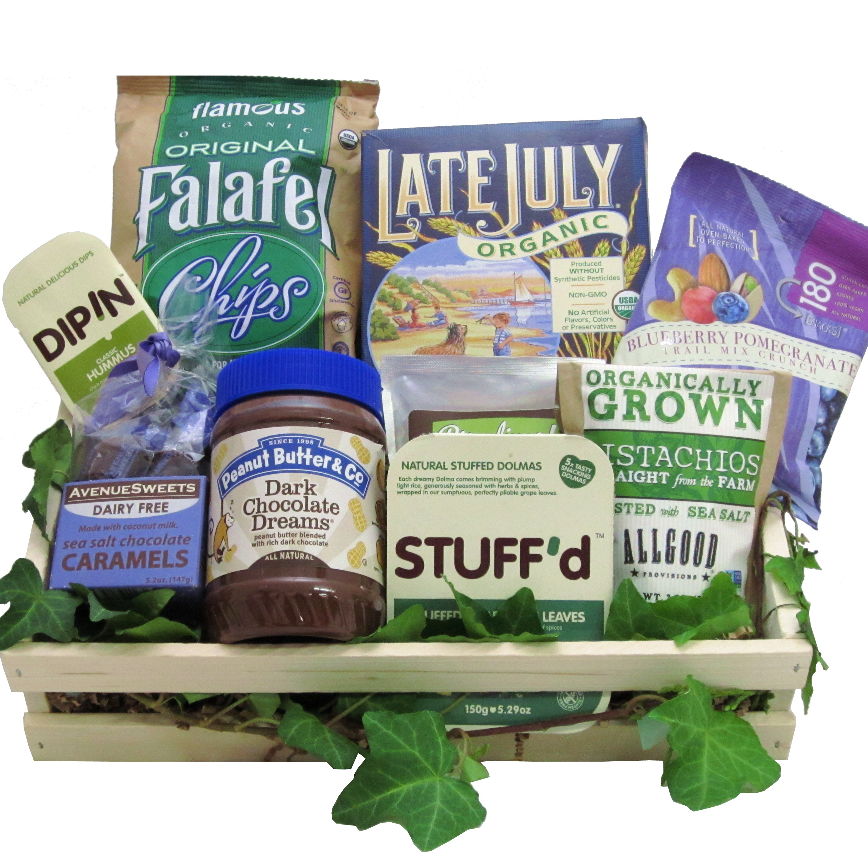 Vegan Delicious Gift Basket