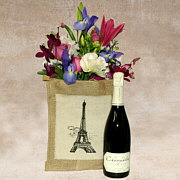 French Duet - Wine and Flowers