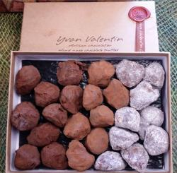 A lovely sampling of some tasty truffles