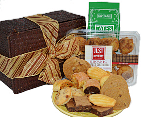 Baked goods gift baskets cookie gift baskets bakery treats gift box negle Choice Image