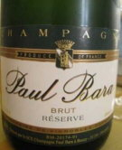 Paul Bara Grand Rose Champagne