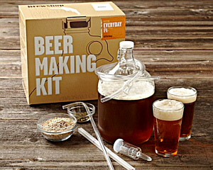 a do-it-yourself kit for making beer