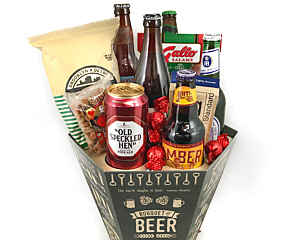 Valentine gift baskets at fancifull gift baskets bouquet of beer negle Images