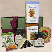 Cheese Pairing Gift Basket