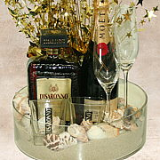 Disaronno promotional Gift Basket